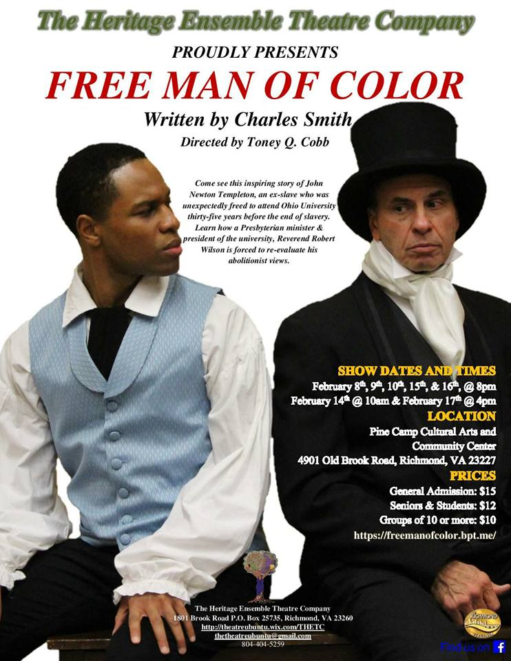 FREE MAN OF COLOR: The Story of One Man's Search for the True Meaning of Freedom
