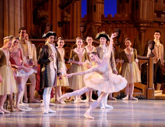 Cody Beaton as Princess Aurora in The Sleeping Beauty by Petipa/Burn. Richmond Ballet 2018. All rights reserved. Photo by Sarah Ferguson