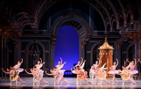 Richmond Ballet artists in The Sleeping Beauty by Petipa/Burn. Richmond Ballet 2018. All rights reserved. Photo by Sarah Ferguson