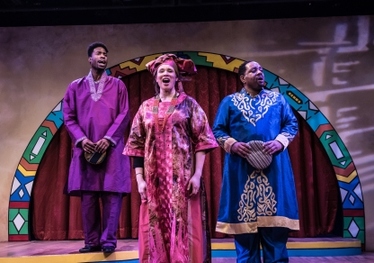 Anthony Cosby, Nicole Pearson, William Anderson. Photo by Aaron Sutten.