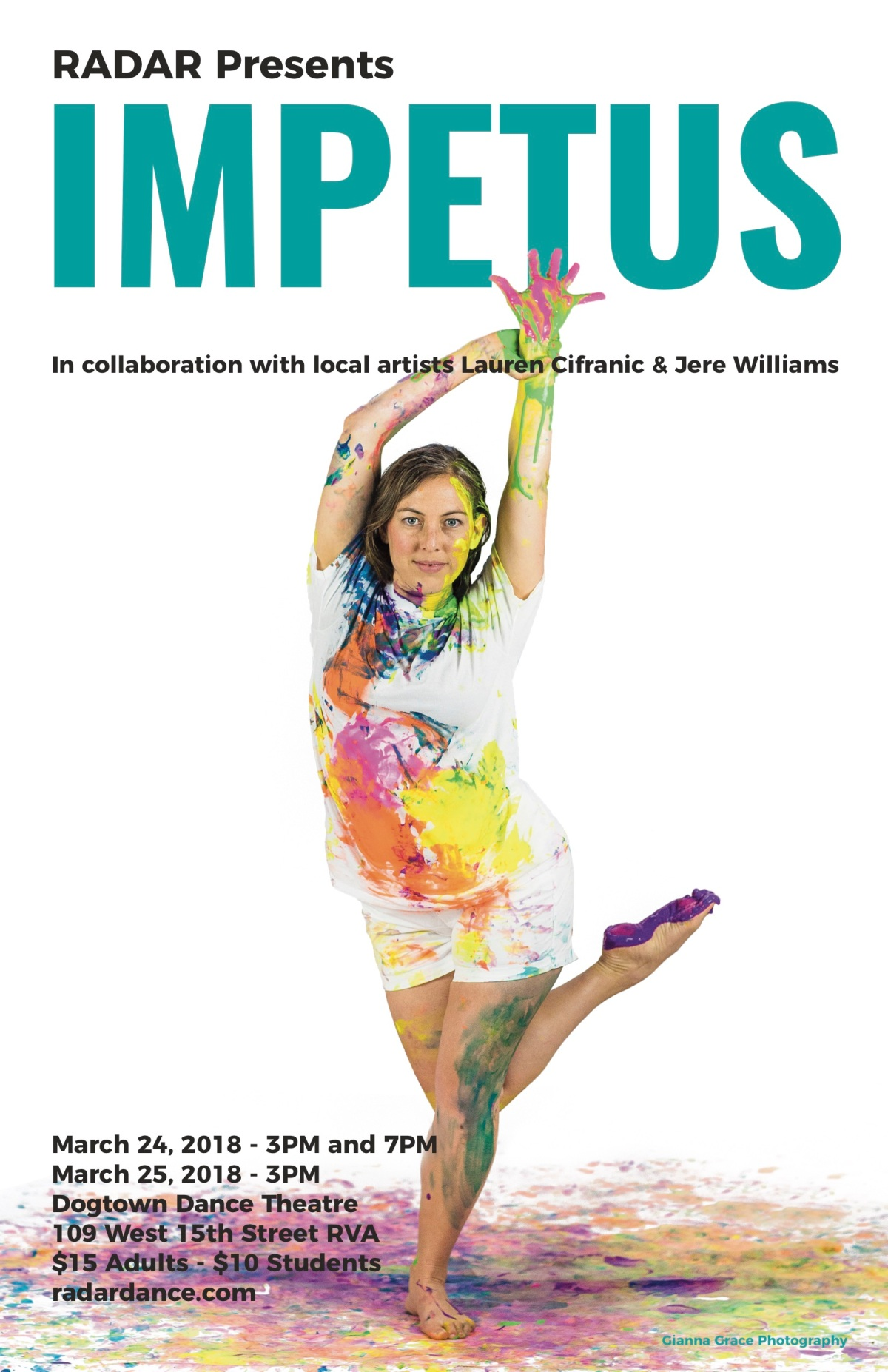 IMPETUS: A Collaboration of Dance and Art