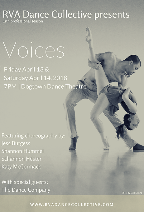 RVA Dance Collective Presents: VOICES – RVArt Review