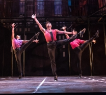 West Side Story - The Sharks. Photo by Aaron Sutten.
