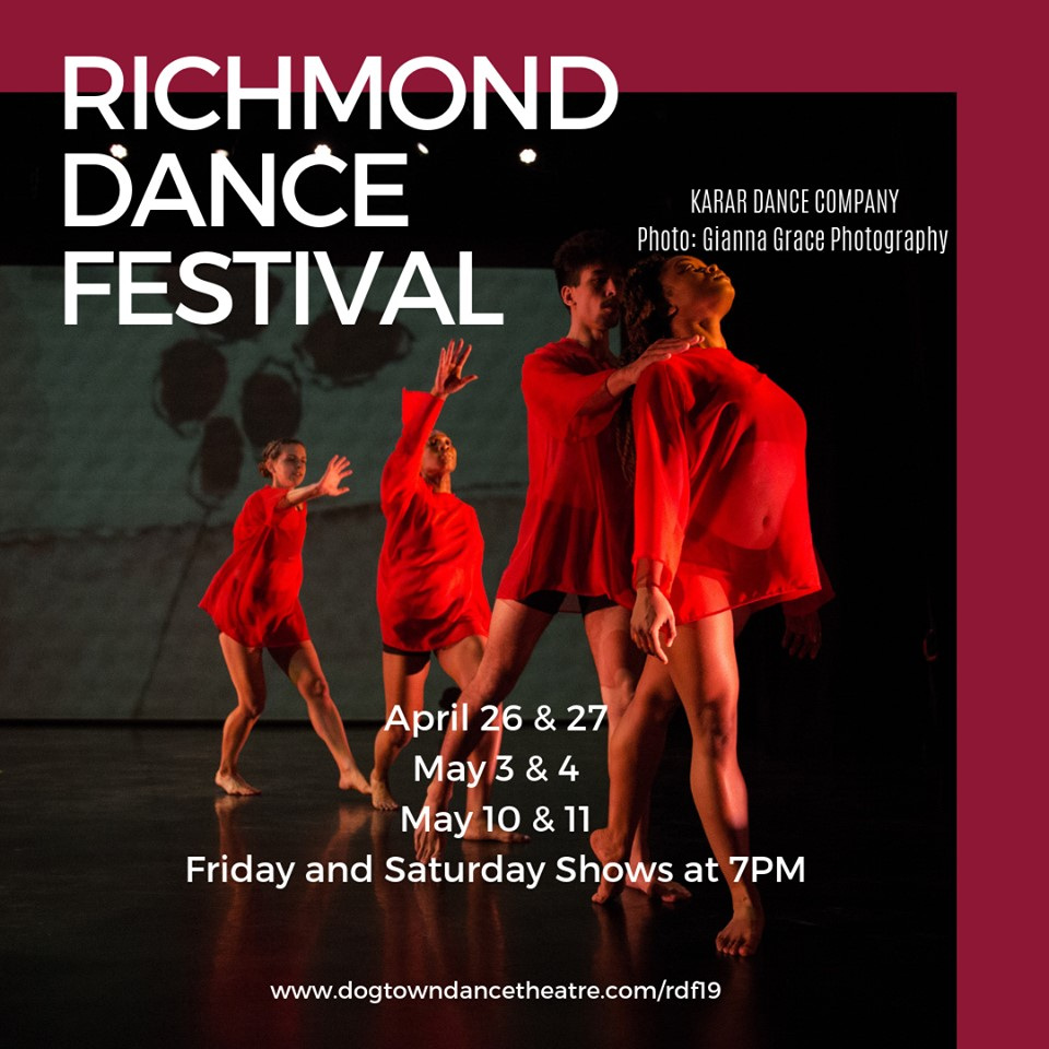 6th RICHMOND DANCE FESTIVAL: Week 2 of 3