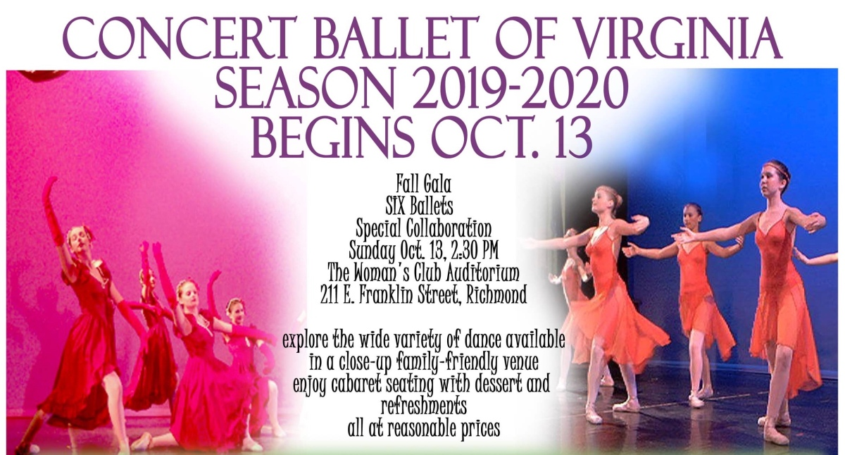 CONCERT BALLET OF VIRGINIA: A Family-Friendly Affair