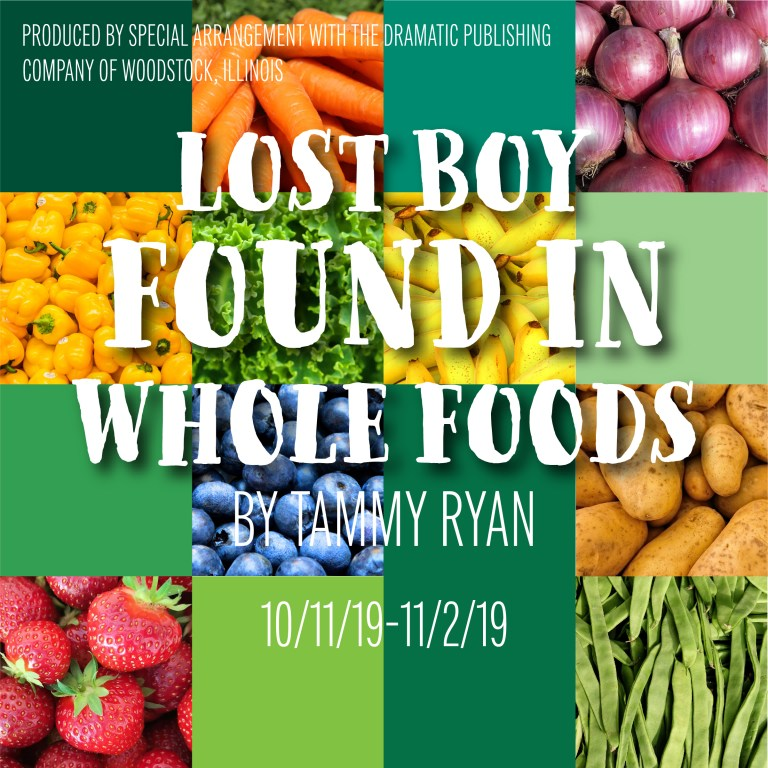 "LOST BOY FOUND IN WHOLE FOODS: ""To understand metaphor, you must imagine"""