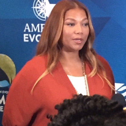 Queen Latifah at the Greater Richmond Convention Center