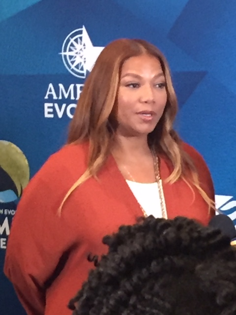 AN AUDIENCE WITH THE QUEEN: Queen Latifah Hosts American Evolution's Women's Achieve Summit