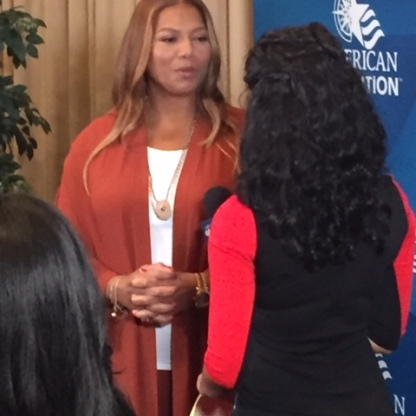 Queen Latifah at the GRCC