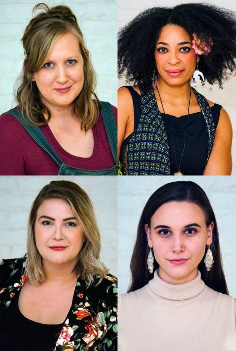 TOP: Maggie Roop; Katrinah Carol Lewis; BOTTOM: Maggie Bavolak, Lydia Hynes
